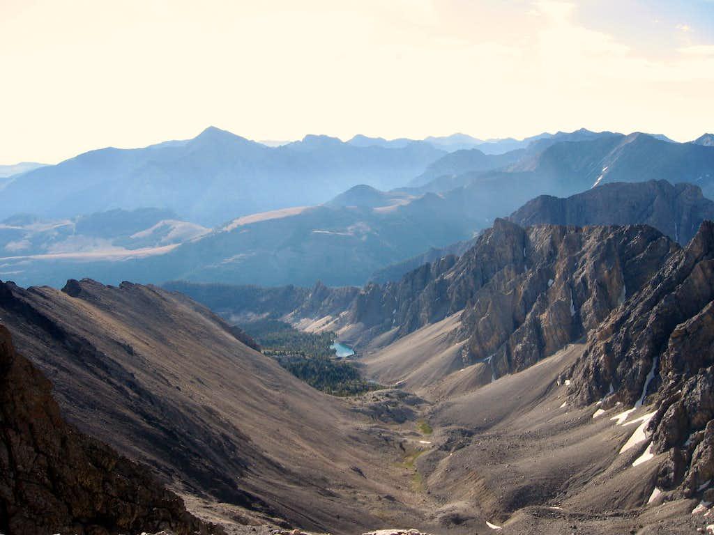 View from Borah Peak