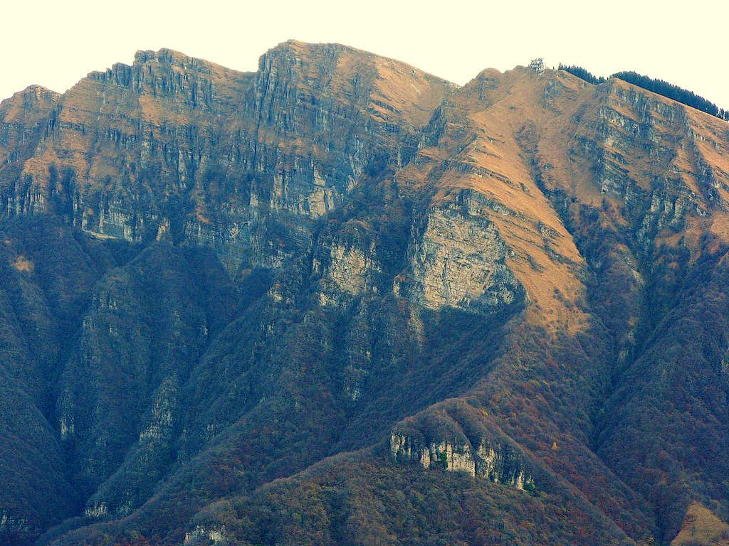 Der Monte Generoso 1701m