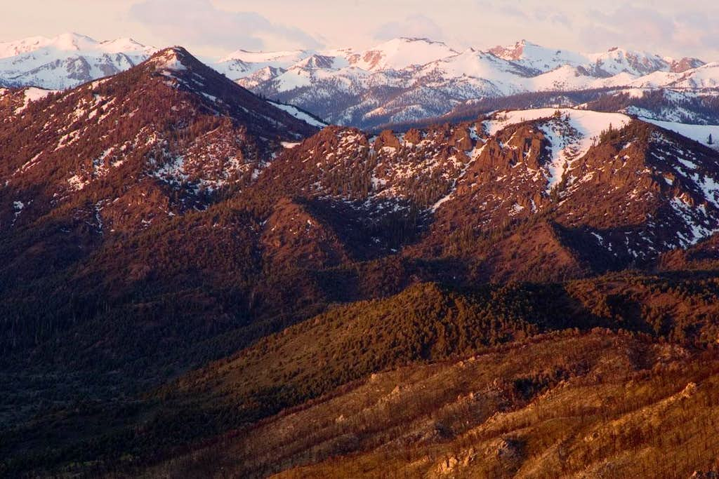 View from Monitor Pass