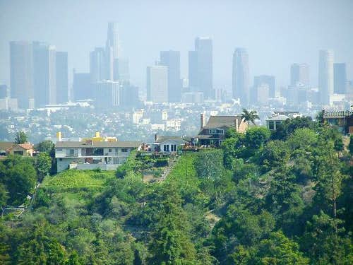 View of Downtown LA from...