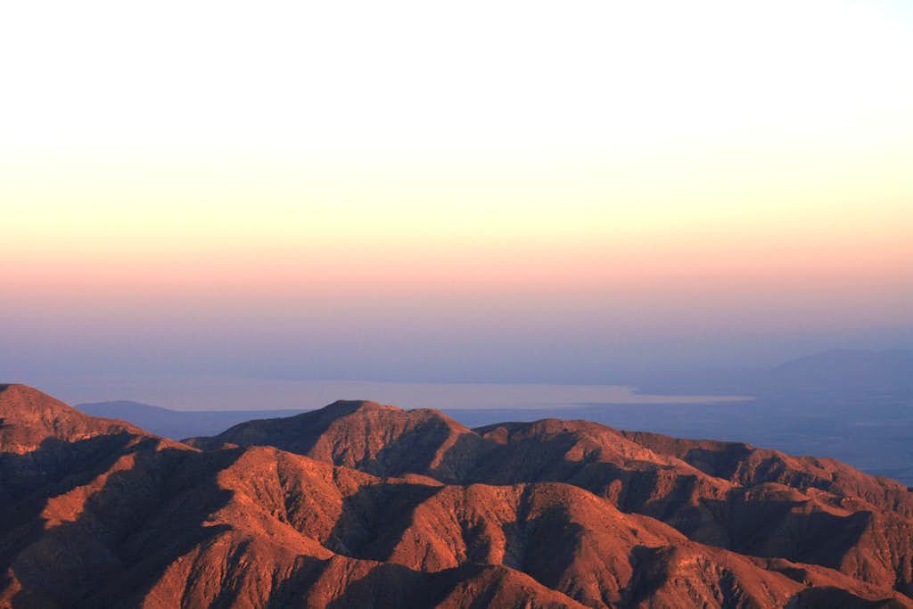 The Salton Sea from Keys View