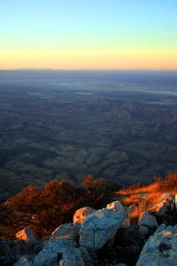 Guadalupe Peak - View from the Summit