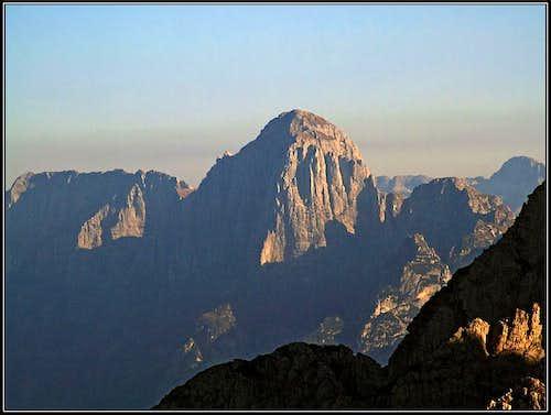 Monte Cimone / Strma pec