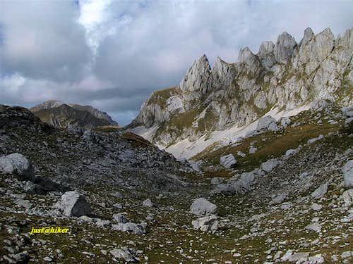 Dark sky above Zupci (2.309m)