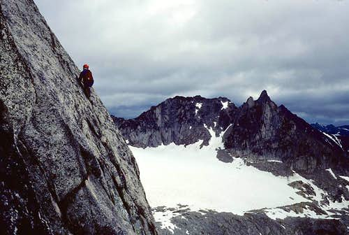 6th Pitch, Snowpatch Spire SE Corner