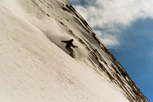 North Slope/East Wall Ski Descent