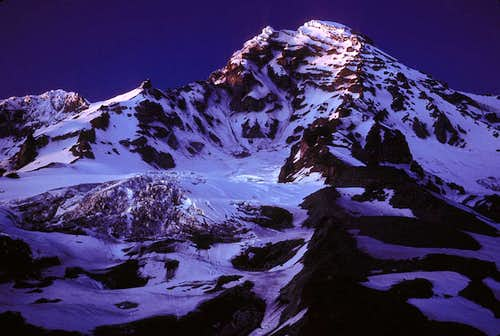 Mount Rainier by Moonlight