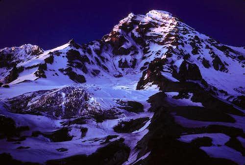 Mount Rainier by Moonlight