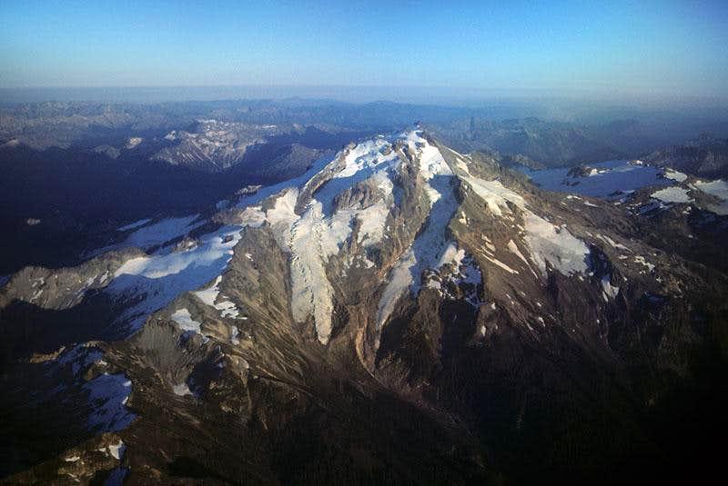 Aerial View of Glacier Peak