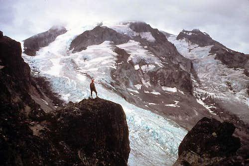 Storm on Glacier Peak
