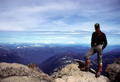 Summit View from Glacier Peak