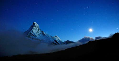 Matterhorn by Moonlight