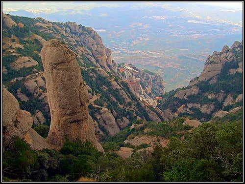 Trancabarrals and Montserrat monastery