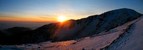 baldy sunset pano 2