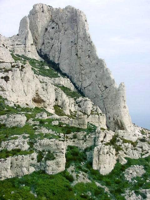 Calanques - view of La Grande...