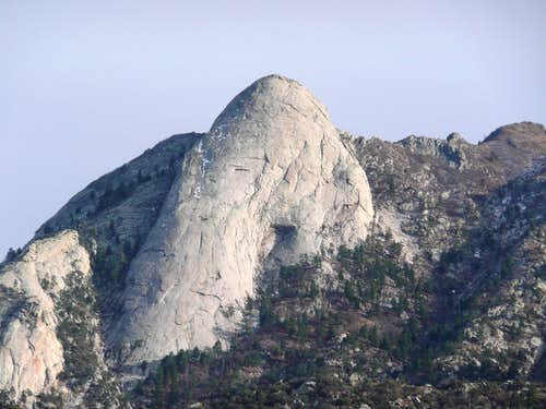 Sugarloaf from Baylor Canyon Trail