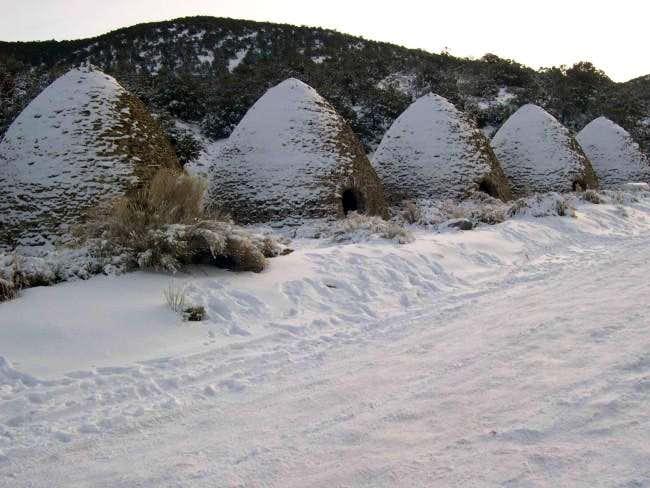 The Charcoal Kilns where the...