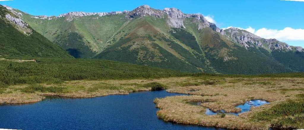 Biele Pleso & white Tatras