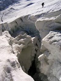 Over the Crevasse