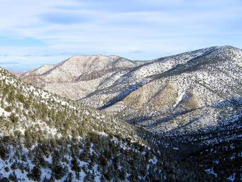 Wildrose Peak right of center...