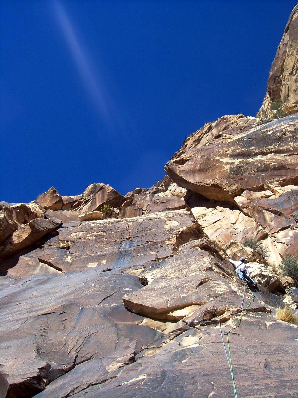 There and Back Again, 5.8, 5 Pitches