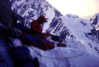 Cold Bivouac on Reality Ridge