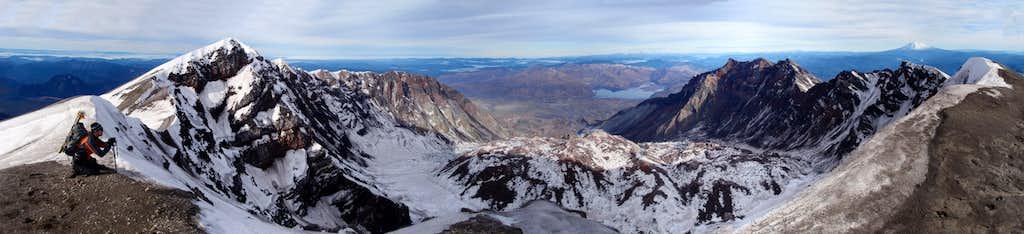Lava Dome Panorama