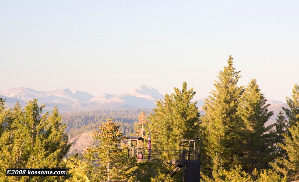 Tower Peak from Crane Flat