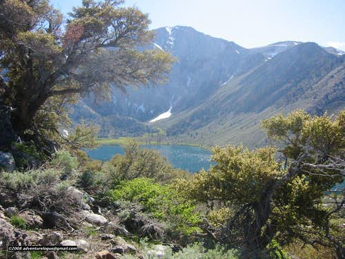 Laurel Mountain and Convict Lake