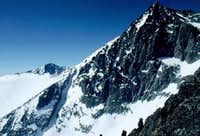 The North East face of...