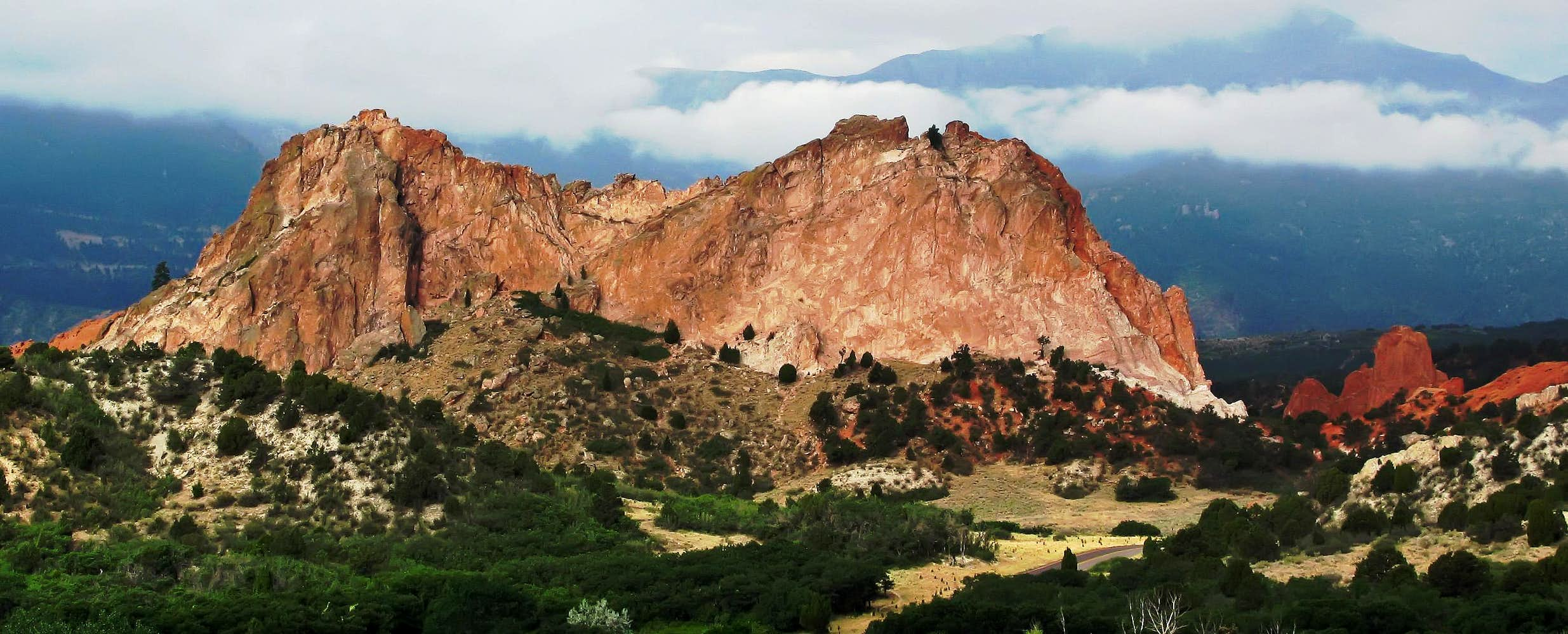 Garden Of The Gods View From Visitors Center Photos Diagrams