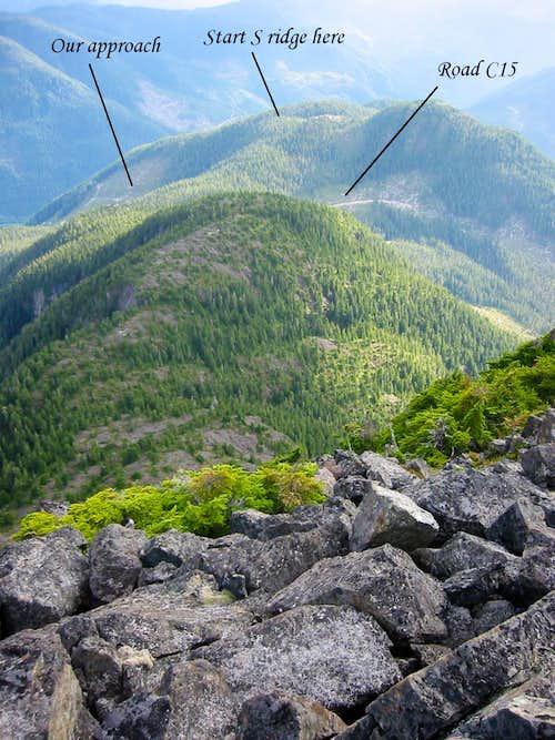Conuma Peak South Ridge