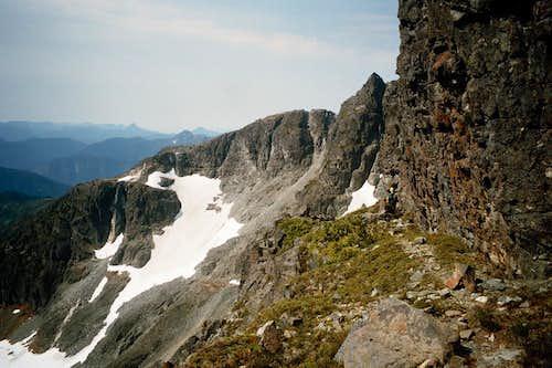 Conuma Peak from Victoria Peak