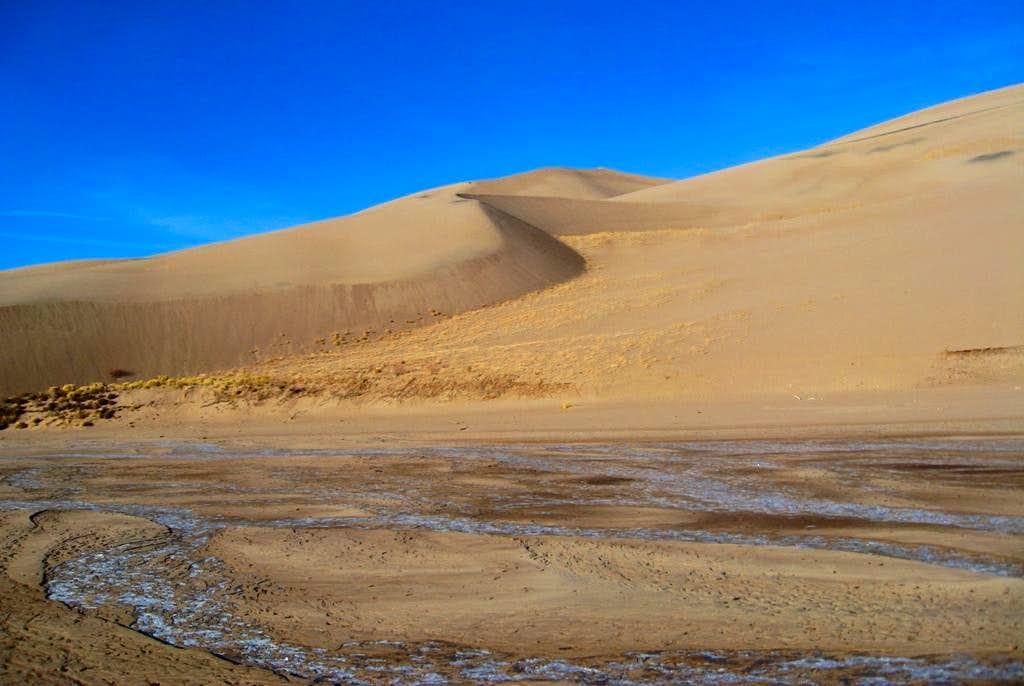 Dunes and Ice