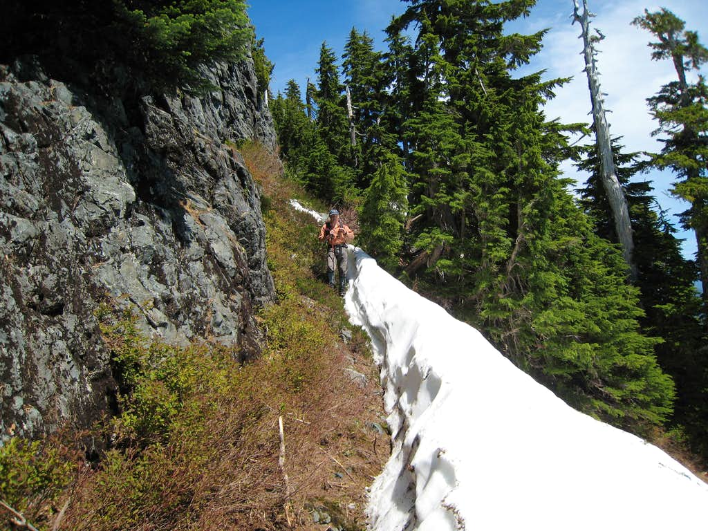 Traversing the South Face