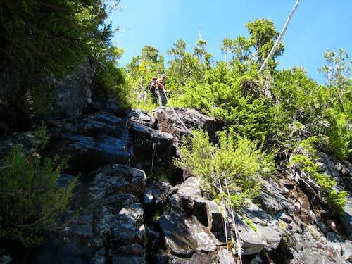 Conuma Peak: Waterfall Pitch