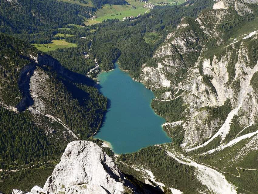 Pragser Wildsee from Seekofel