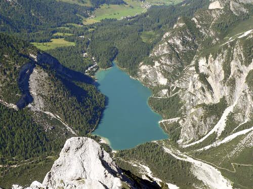 Pragser Wildsee from Seekofel
