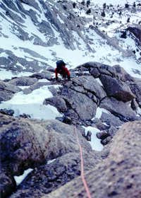 NE Ridge of Lone Pine Peak - FWA, March 09, 1994