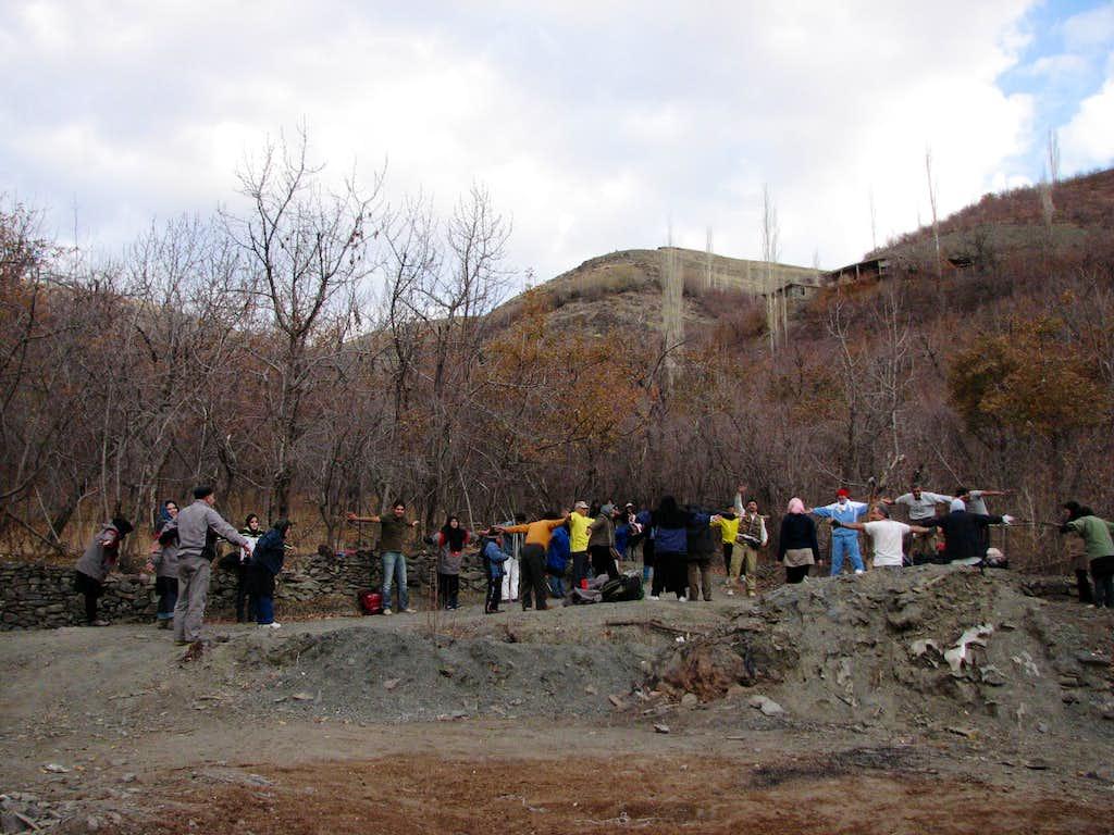 zoshk valley