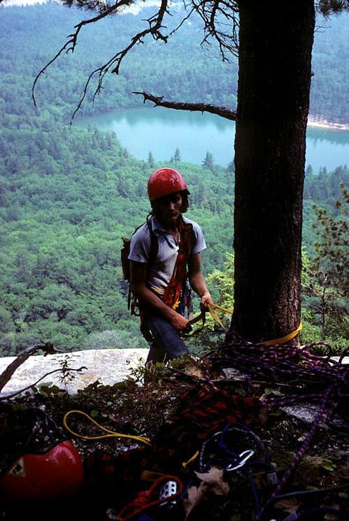 Whitehorse Ledge, NH, in the 1970s