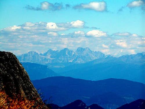 Dolomite view: Pala Group....