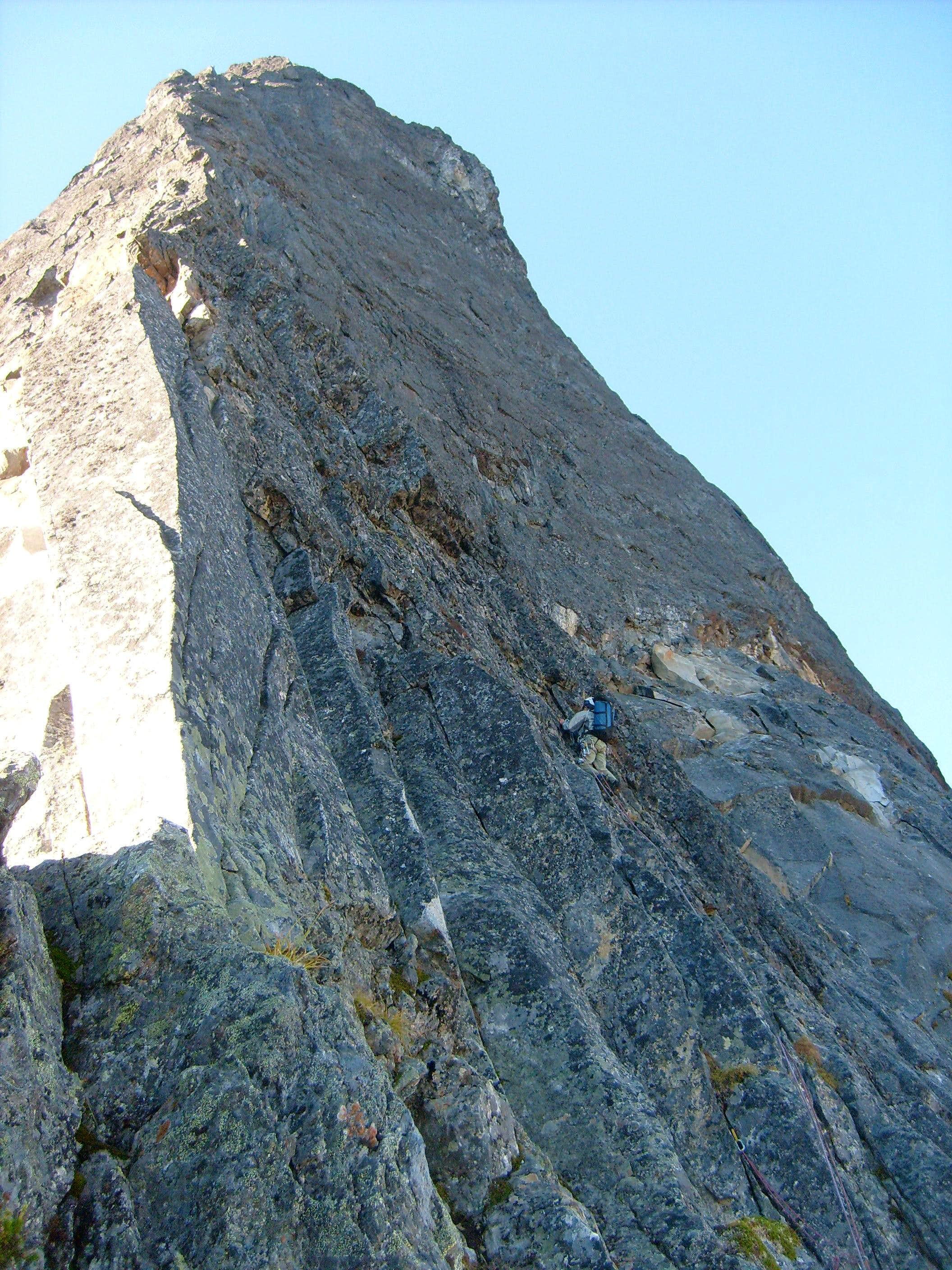 Northeast Buttress - Bypass