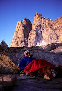 Bivouac, Sawtooth Ridge