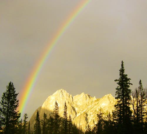 Rainbow Over El Capitan