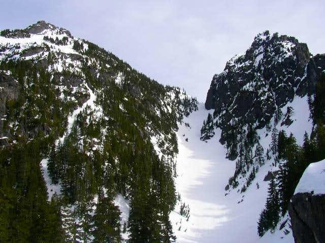 Winter on Mt Baring. Climb...