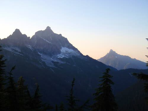 Mount Pugh and White Chuck Mountain