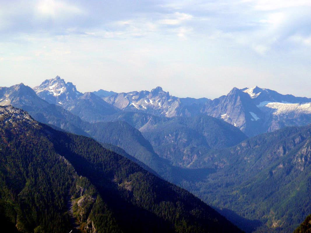 Mountain Loop Highway Peaks : Photos, Diagrams & Topos ...