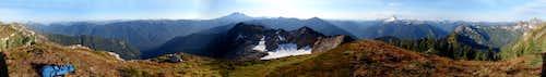 Breccia Peak 360° View