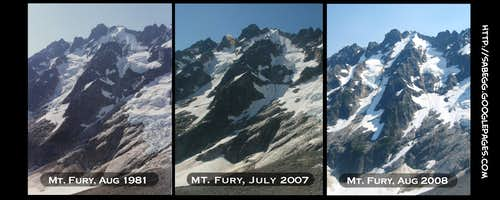 30 years of change for Mt. Fury